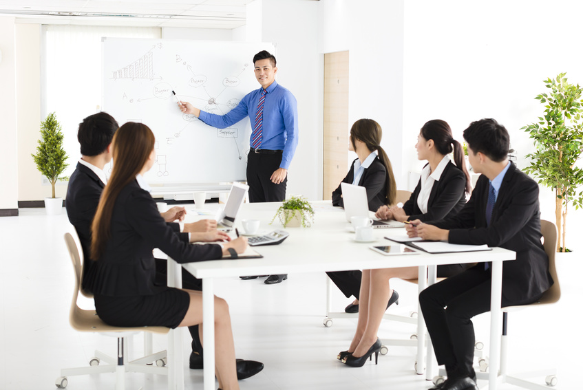 営業会議、会議
